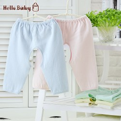Free Shipping HelloBaby boneless children sewing baby girl rompers newborn babies 0-2years old baby open-seat baby romper summer