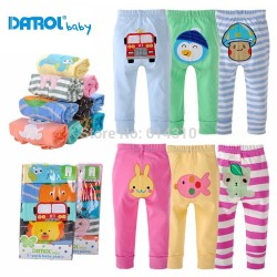 new model babi pant 5 pcs/lot beby  cotton embroider pants baby trousers kid wear Baby fashion wear