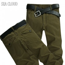 Free shipping Sea Cloud plus size 6xl 46 44 48 mens famous brand hip-hop pants trousers cotton new large size men's casual fat