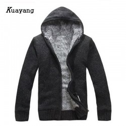 2015 New Arrival Winter Style Men Cardigans Sweater Keep Warm Thicker Casual Wear Outdoors Outwear Y00143