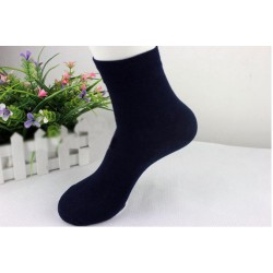 Wholesale Price 50 pc/lot  The new solid color men's fashion boutique in tube socks cotton socks   16892