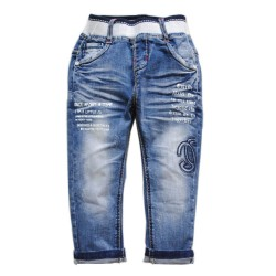 3940 18 month  soft denim BABY JEANS casual boys pants boy&girl spring&autumn kids trousers baby ELASTIC    nice