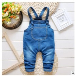 New Baby Boy Clothes Fashion Spring Girls Baby Children Overalls baby Cotton Soft Suspender Pants Kids baby Clothing