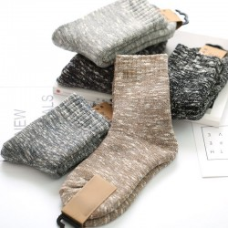 10Pair Warm Socks For Womens Solid Color Sock Thick Female Meias Socks Winter Socks For Women Thickening Calcetines Chaussettes