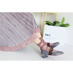 DHL Free Shipping 100pairs/Lot Wholesale Fishnet Socks Women Bright Silver Mesh Sokken Calcetines Mujer Meias Chaussette Femme