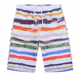 Summer beach pants shorts beach casual Shorts Size loose dry shorts Korean flower big pants