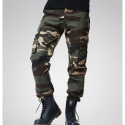 2017 Mens Tactical Camouflage Pants Camo Pattern Multi-Pockets Cargo Pants Free Shipping