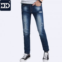 2017 Summer Thin Straight Jeans Men Softness 90% Cotton Casual Jeans Men Jeans Casual Denim Pants Classic Masculina Male