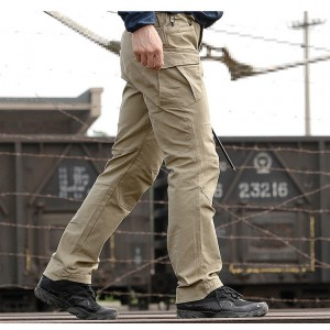 ZAKKA.YY City Tactical Cargo Pants Men Combat SWAT Army Military Pants Cotton Pockets Stretch Casual Trousers Mens S-3XL