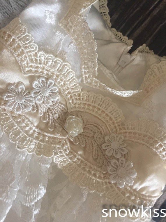 4bf024cef 2016 new summer white/ivory lace infant baptism baby christening gowns  short princess first communion dresses for girls